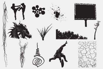 PSD Various Elements Photoshop Files