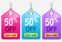 Sale/Price Tags PSD Files
