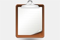 Clipboard PSD File