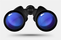 Spyglass/Binocular Photoshop File