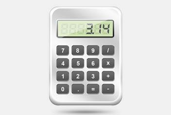 Digital Calculator PSD Template