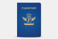 Passport PSD File