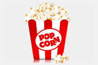 Popcorn Box PSD File