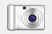 Digital Camera PSD File