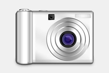 Digital Camera PSD File