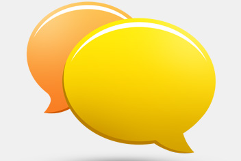 Chat Bubbles PSD File