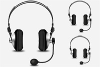 Hadeaphones/Microphone PSD File