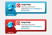 Twitter Interface Photoshop File