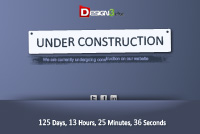 Under Construction Page PSD Template
