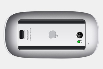 Apple Magic Mouse PSD File