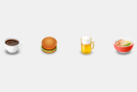 Fast Food Photoshop Icons