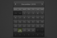 Calendar – Almanac Photoshop (.psd) Template