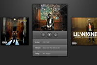 Cover – Album Player PSD