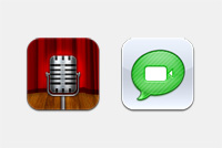 Voice Memo Devices PSD Icons