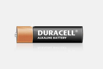 Duracell – Alkaline Battery PSD Template