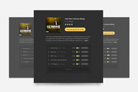 Album Tracklist Photoshop (PSD) Design