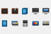 eCommerce PSD Icons