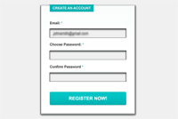Sign-Up Photoshop (PSD) Form