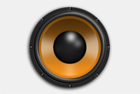 Sub Woofer Photoshop (PSD) File