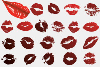 PSD Lips &#8211; Kiss Photoshop Files