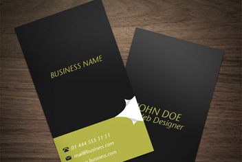 Business Cards Photoshop (PSD) Design