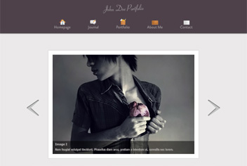 Fashion Portfolio & Blog PSD Template