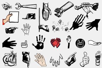 PSD Hand – Hand gesture Photoshop Files