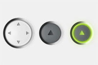 Player Buttons PSD File
