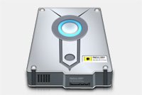 Hard Disk Photoshop (PSD) File