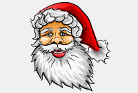 Santa Claus PSD File