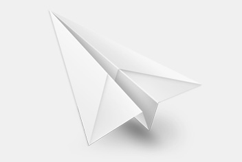 Paper Airplane PSD File