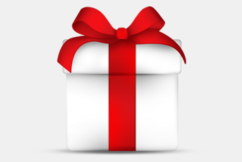 Gift Box PSD Design