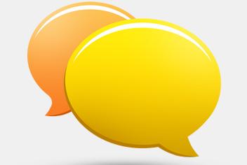 Chat Bubbles PSD File