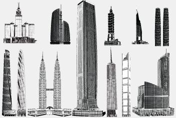 PSD Skyscraper – Building Photoshop Files