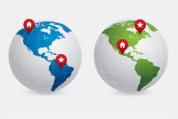 PSD Earth Map – Globe Photoshop Files