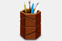 Pencil Box/Pencil Stand Photoshop (.psd) File