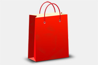 Shopping bag Photoshop (.psd) file