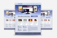 Corporate/Business Photoshop (.psd) Website Template