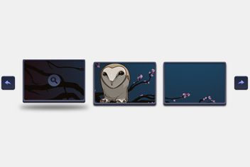 Image Gallery – Slider PSD File