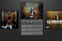 Cover – Album Player PSD