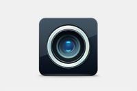 Camera PSD Icon