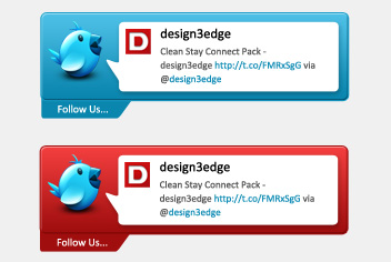 Twitter Interface Photoshop File