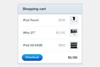 Shopping Cart Photoshop File