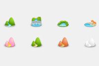 Nature – Landscape Photoshop Icons