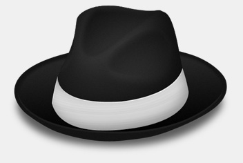 Gangster Hat Photoshop Template