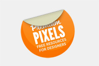 Photoshop Sticker PSD File