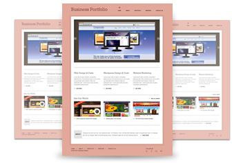 Light Business Website – Photoshop File (.psd)