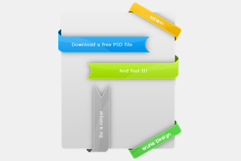 Photoshop (PSD) Ribbon Pack