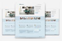 Landing Page Photoshop (PSD) Template
