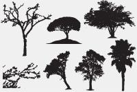 PSD Trees Photoshop Files